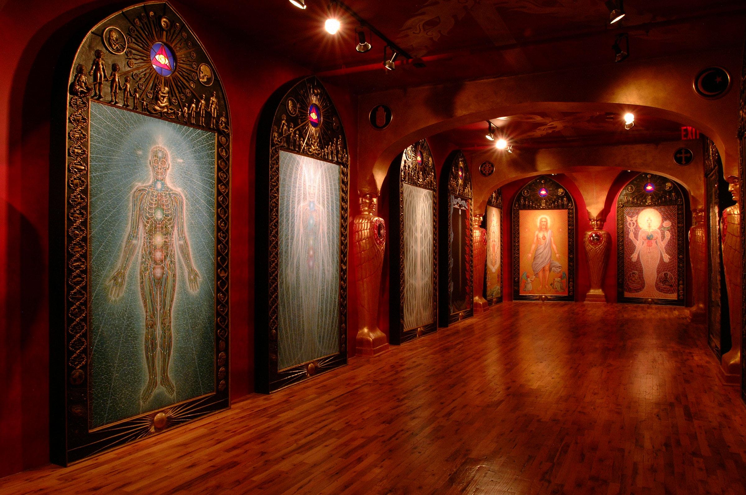 Calendar Art Journal : History chapel of sacred mirrors