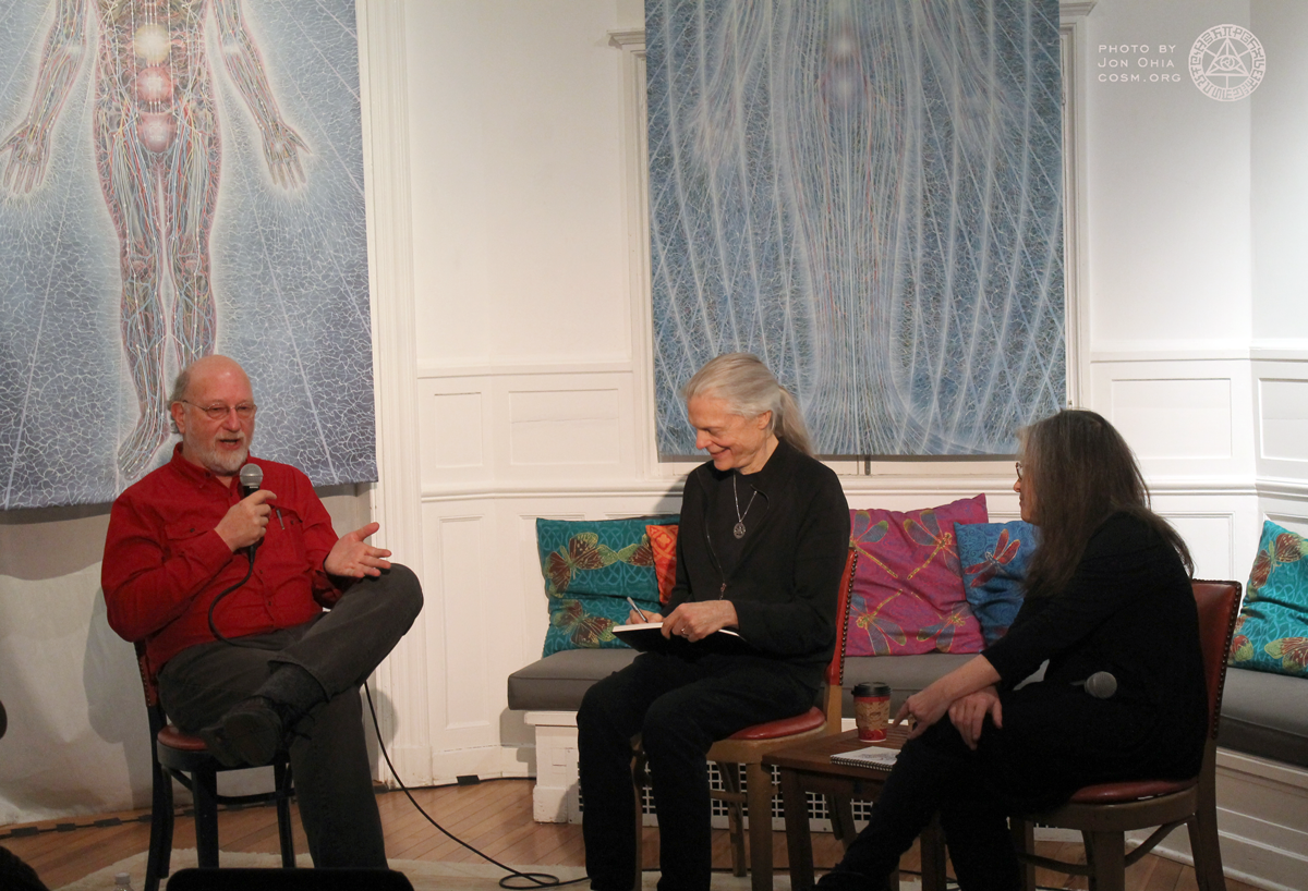 Visionary salon with dennis mckenna chapel of sacred mirrors for A visionary salon