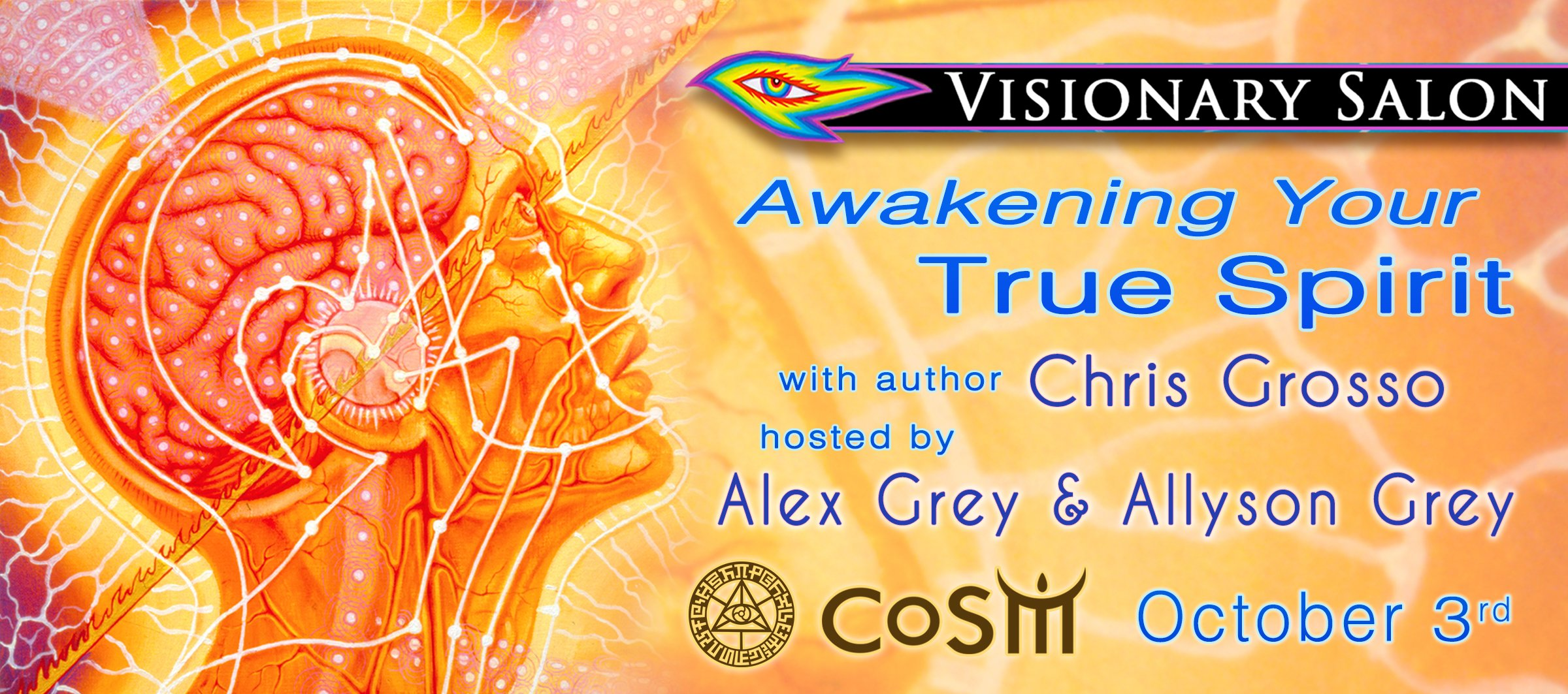 Visionary salon awakening your true spirit with chris for A visionary salon