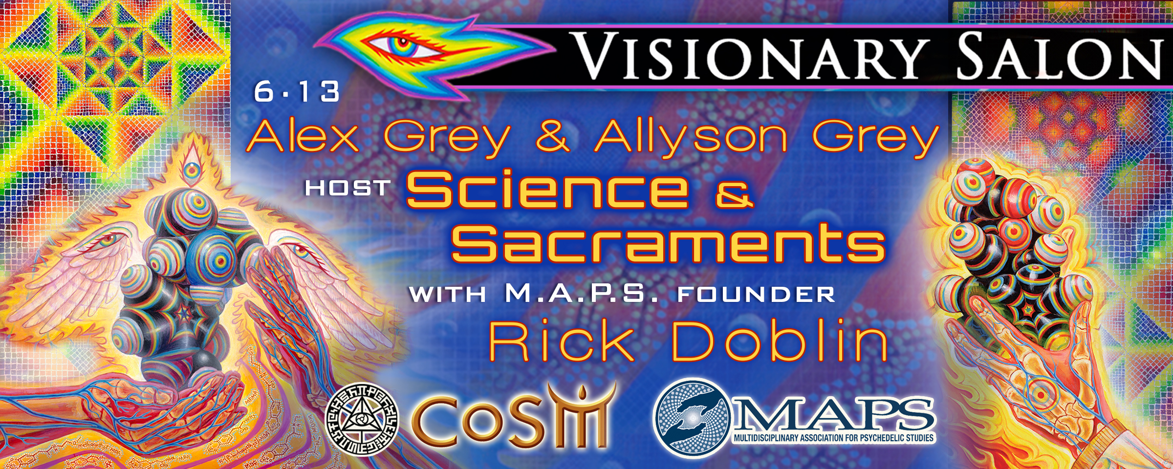 Visionary salon science sacraments with rick doblin for A visionary salon