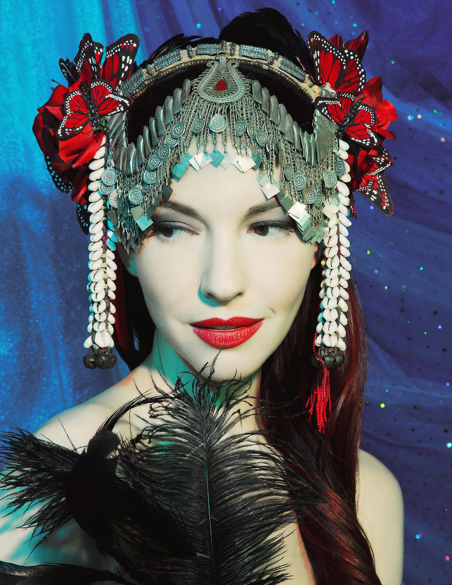 create a headdress with ka amorastreya chapel of sacred mirrors