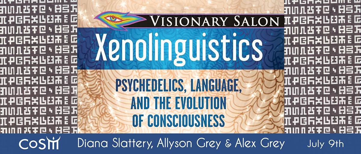 Visionary salon xenolinguistics chapel of sacred mirrors for A visionary salon