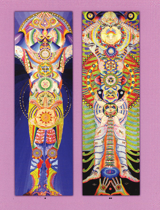 Jose Arguelles, Radiant Man and Radiant Woman, www.lawoftime.org
