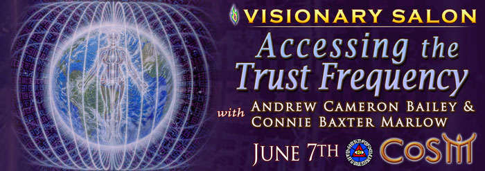 Visionary Salon Accessing The Trust Frequency Chapel Of Sacred