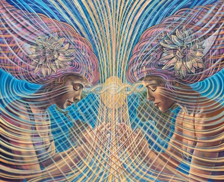 Psychedelic Spirit Paintings Alex Grey Art Gallery: Chapel Of Sacred Mirrors