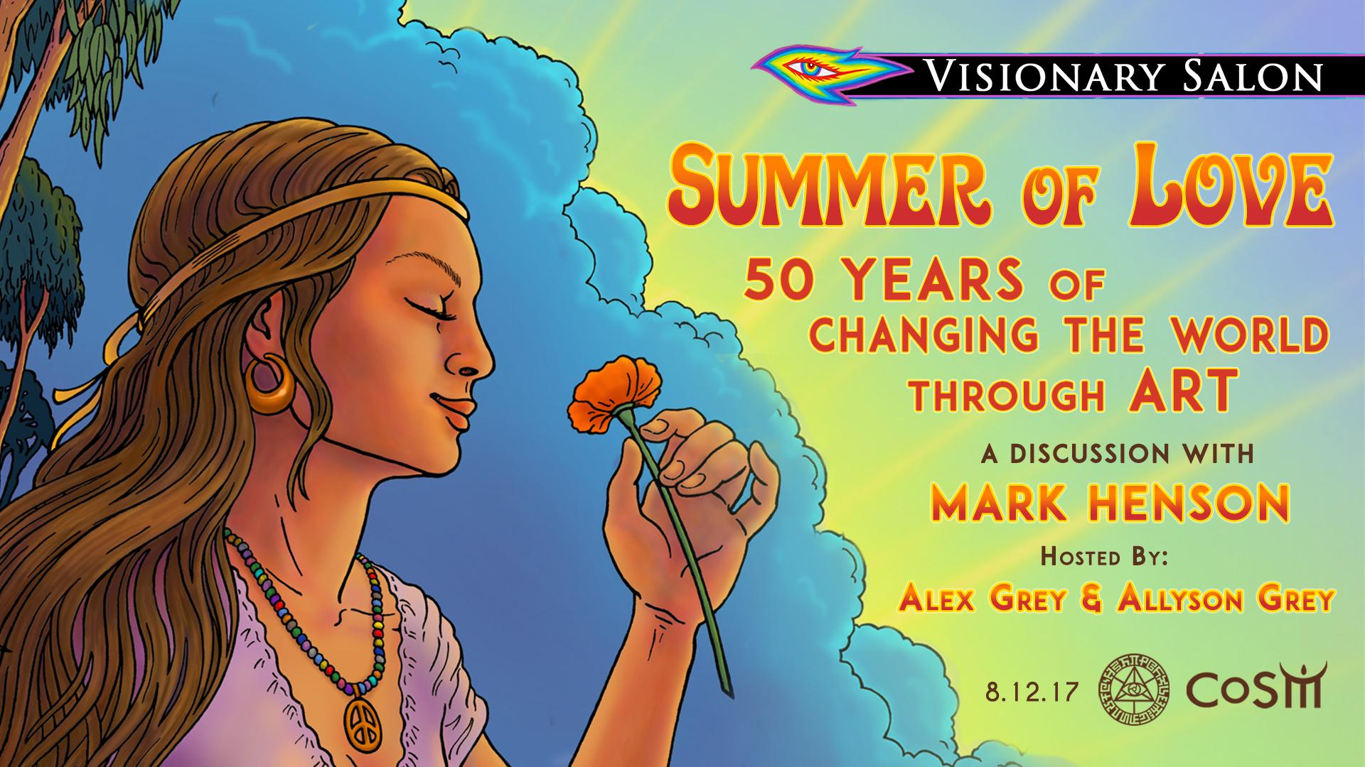 Visionary salon summer of love with mark henson alex for A visionary salon