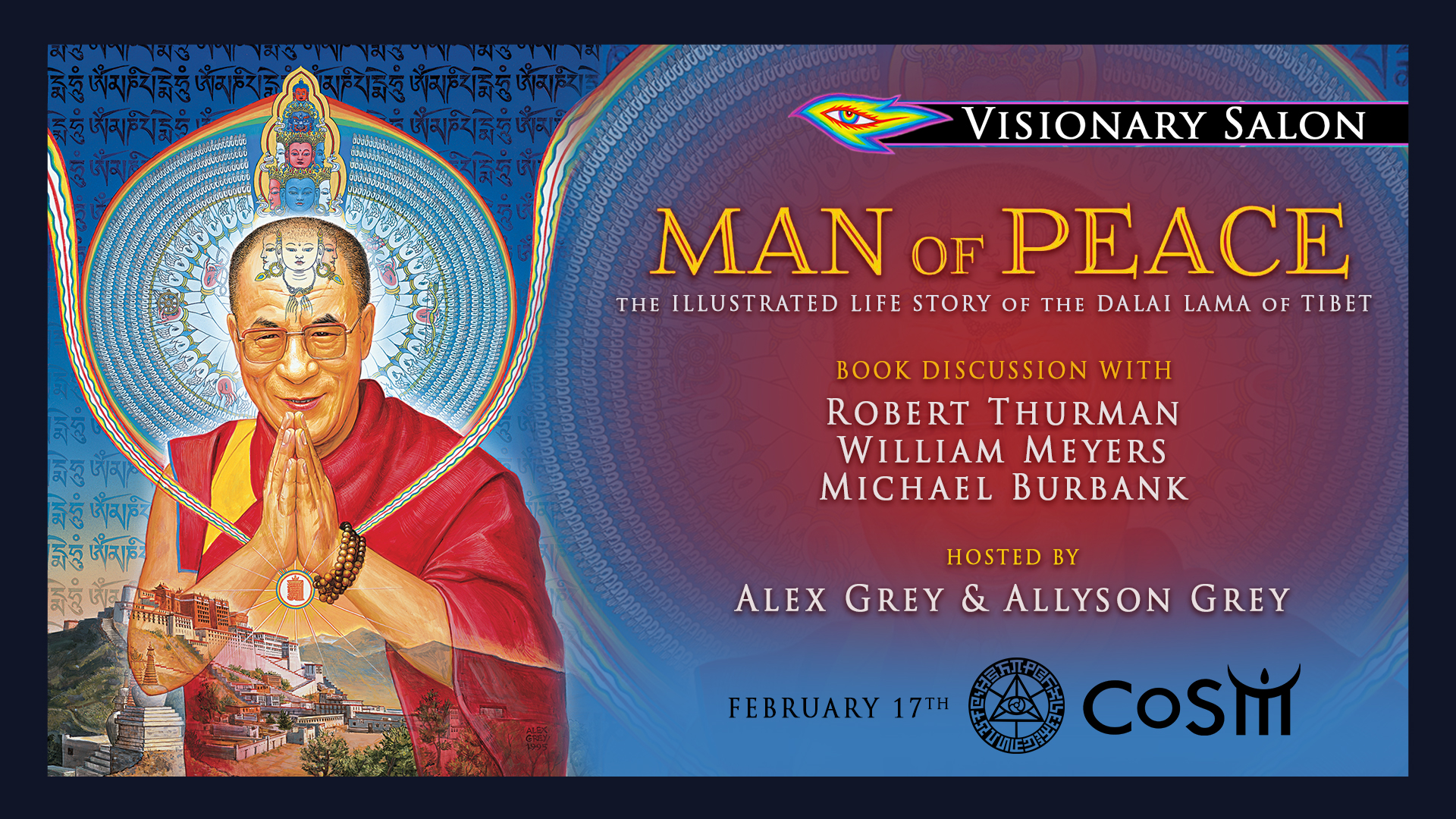 Visionary salon man of peace book discussion chapel of for A visionary salon