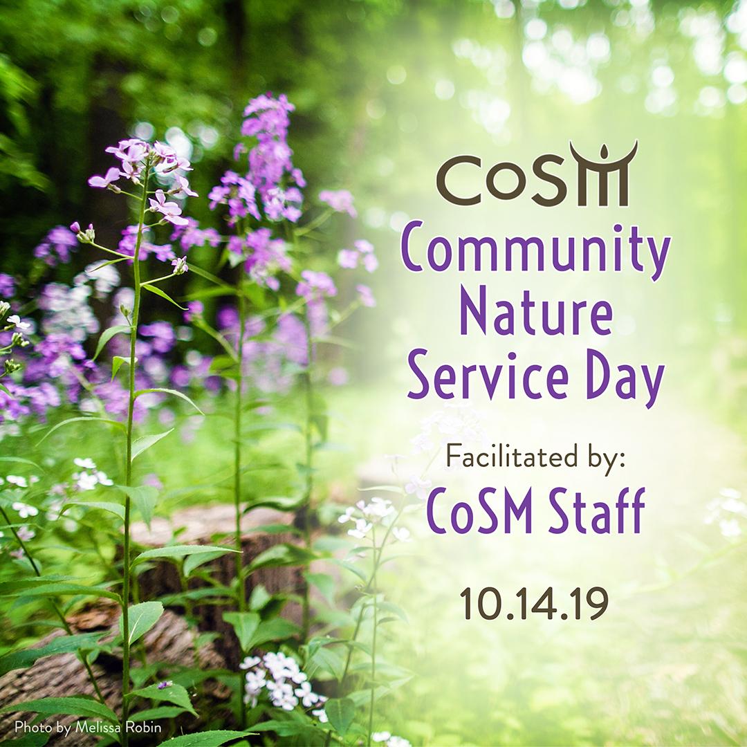 10-14-2019-cosm-community-nature-service-day-squareSMALL1