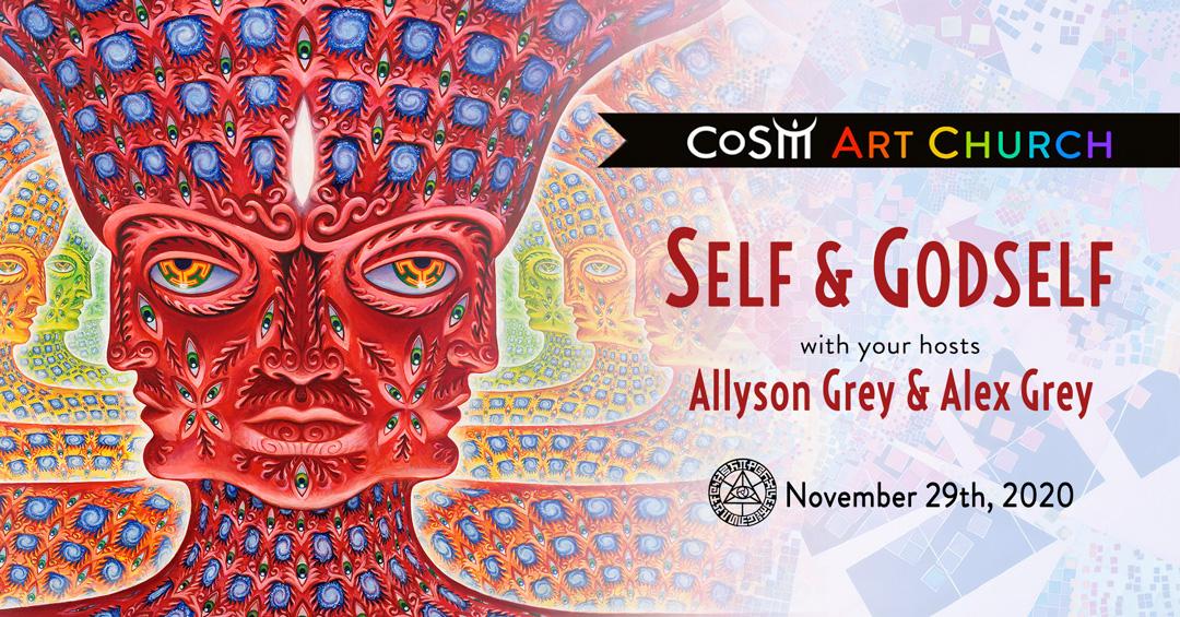 Alex Grey Poster Godself